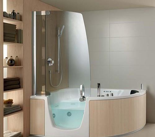 Funkcjonalne Rozwiązanie Do Małej łazienki Wanna Z Kabiną