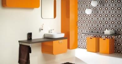 kolorowe meble łazienkowe